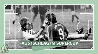 Supercup 1987: Uli Stein verpasst Bayern-Stürmer eine Faust I ZwWdF