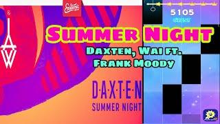Summer Night - Daxten, Wai ft. Frank Moody | MAGIC TILES 3