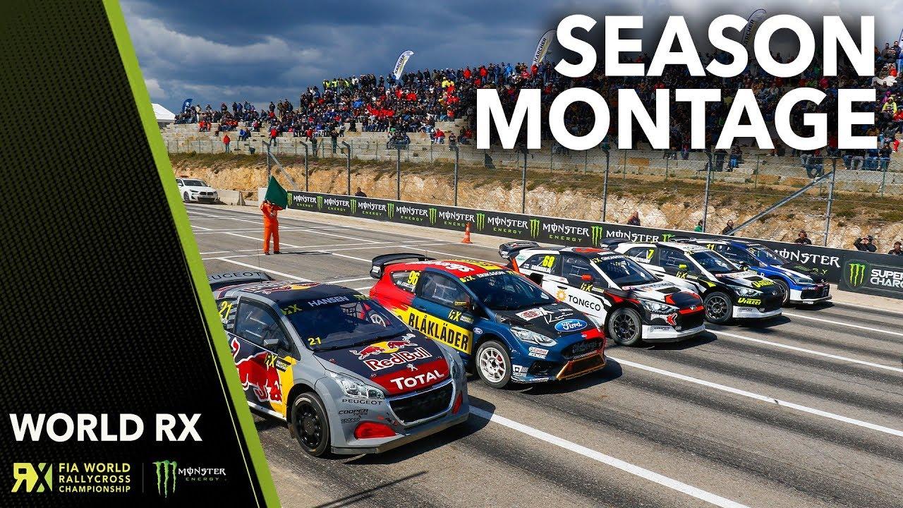 2018 World Rallycross Season Montage!   FIA World Rallycross