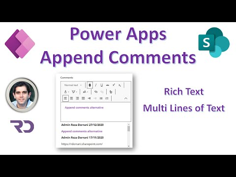 PowerApps Hack   An Alternative To Append Rich Text Comments