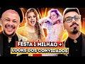ANALISANDO NOSSA FESTA DE 1 MILHÃO + LOOKS DOS CONVIDADOS | Diva Depressão