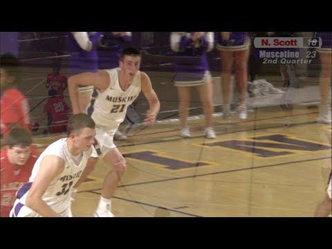 N. Scott vs. Muscatine Muskie Basketball 12-5-17