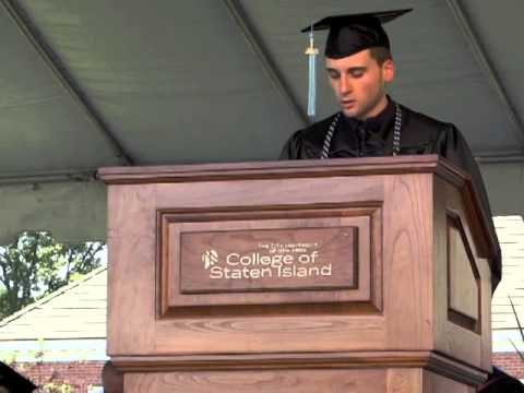 College of Staten Island Class of 2013 Valedictorian Speech