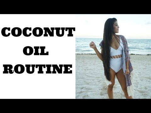 HOW TO APPLY COCONUT OIL TO YOUR HAIR