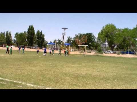 05-20-12 Blue Sharks Soccer: Alejandro Sotelo Scores Goal, El Paso,TX.wmv