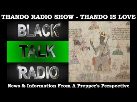 Thando Radio Show: Start Where You Are And Find Others Like You!