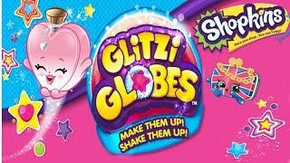 Shopkins • Glitzi Globes • Mega kula brokatowa z niespodziankami • DIY