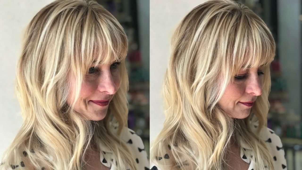 Painting Balayage On Bangs With Brandi Caputa