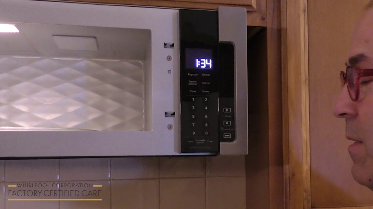 How to Set Demo Mode for an Over the Range Microwave - Whirlpool