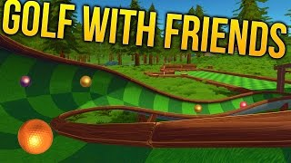 Golf With Friends Gameplay - Mini Putt RAGE! - Golf With Friends Early Access