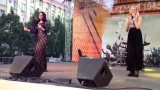"""Группа """"Весна"""" - Концерт Радио Дача 09 мая 2014 - Тверская площадь"""