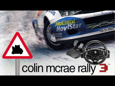 colin mcrae rally 3 ps2 with wheel youtube. Black Bedroom Furniture Sets. Home Design Ideas