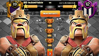 Clan War Leagues Attack😭😭 - TH12 Attacks - Champion 1 - Round 3 (Season 7)   Clash Of Clans