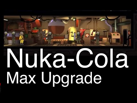Fallout Shelter: Nuka-Cola Plant (Max Upgrade)