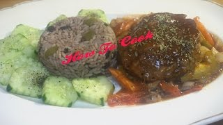 HOW TO MAKE A EASY VEGAN VEGETARIAN MEATLESS BROWN STEW BEEF RECIPE JAMAICAN ACCENT 2016