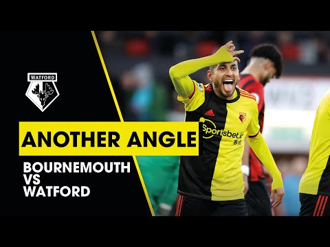 UNMISSABLE TOUCHLINE FOOTAGE FROM BOURNEMOUTH 0-3 WATFORD   ANOTHER ANGLE
