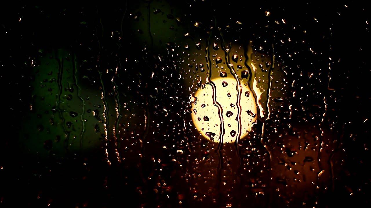 Rain Drop Wallpaper Hd Raindrops On Window Free Stock Video Orangehd Com
