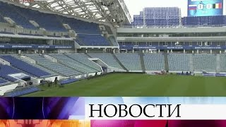 Футболисты сборных России иБельгии готовятся ктоварищескому матчу вСочи.
