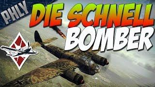 War Thunder Funny Gameplay! DIE SCHNELL BOMBER! War Thunder Gameplay