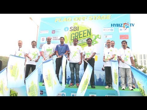 SBI Group flags off 2nd Edition | SBI Green Marathon Hyderabad