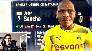 WTFFF SANCHO IST 57 JAHRE ALT !!! 🤦😂 Heftigsten FIFA 18 Karriere Momente Bugs Fails