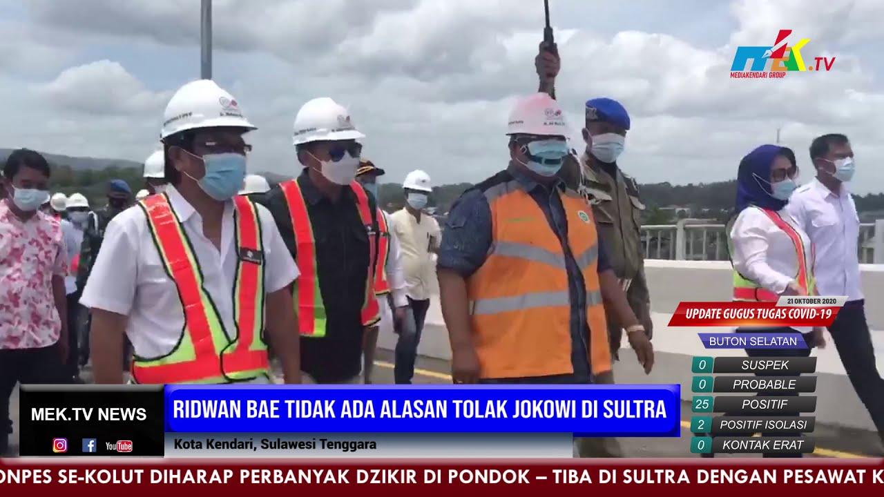 Ridwan Bae Tidak Ada Alasan Tolak Jokowi di Sultra