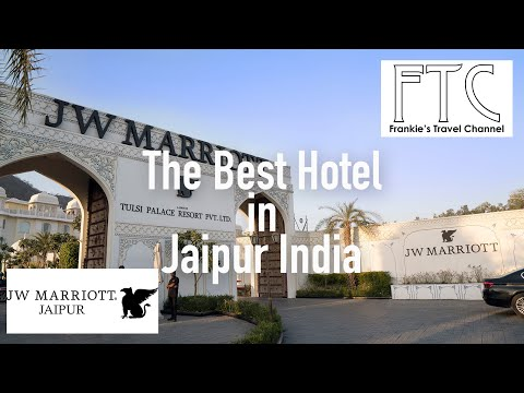 JW Marriott Jaipur Resort & Spa In 4K - Royal Pool Villa (Best Hotel In Jaipur)