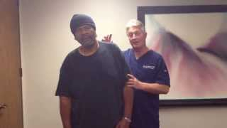 your houston chiropractor dr gregory johnson treats severe chronic pain patient failed surgery