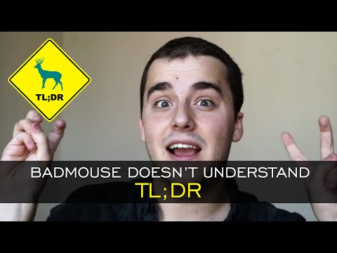 TL;DR - BadMouse Doesn