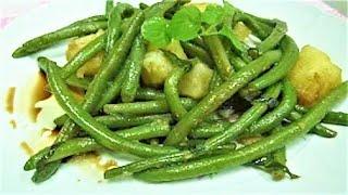 Салат с Зеленой Фасолью и Картофелем Insalata di Fagiolini e Patate Итальянский Рецепт