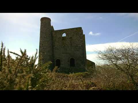 Cornwall's Disused Tin Mine.