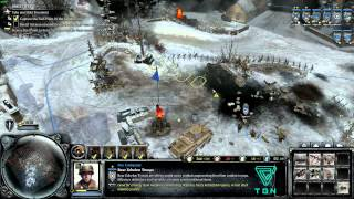 Company of Heroes 2- Ardennes Assault Gameplay 1080p HD #8