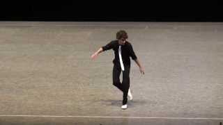 Daniel Leveillé, tap dancer -- 2013 World Champion