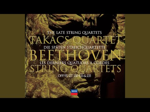 Beethoven: String Quartet No.13 In B Flat, Op.130 - 5. Cavatina (Adagio Molto Espressivo)