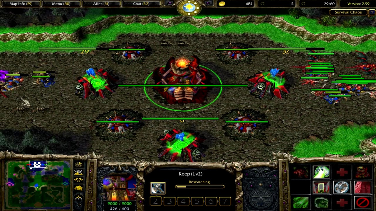 Warcraft 3   Survival Chaos 2 99   Better this time