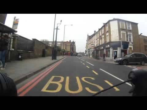 Cycling in Hackney: Homerton Road / Homerton High Street / Urswick  Road