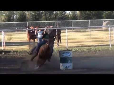McHenry County Saddle Club Barrel Race 7/30/2015