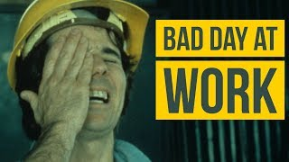 Work accidents funny  *  Bad Day at Work Compilation! HSW24