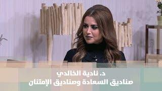 د. نادية الخالدي - صناديق السعادة وصناديق الإمتنان