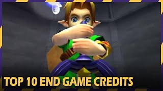 Top 10 End Game Credits