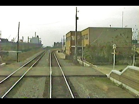 CSX NO&M Sub Part I - Amtrak Train No. 1 Cab Ride - Mobile to Pascagoula