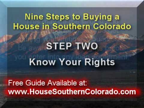Step 2 to Buy a Home in Alamosa-Know Your Rights