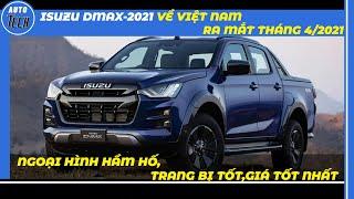 2021 ISUZU D-MAX BẢN FULL OPTION GIÁ CHƯA TỚI 800 TRIỆU,CHIẾC BÁN TẢI ĐÁNG XUỐNG TIỀN  AUTOTECHVN 
