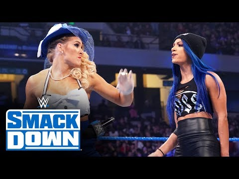 Lacey Evans delivers Woman's Right to Sasha Banks: SmackDown, Nov. 29, 2019