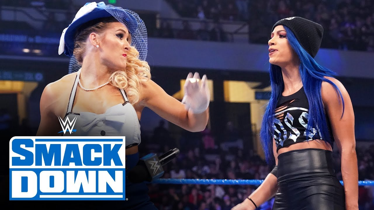 Download Lacey Evans delivers Woman's Right to Sasha Banks: SmackDown, Nov. 29, 2019