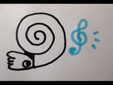 古代生物 アンモナイトのえかきうた drawing song of Ammonoidea