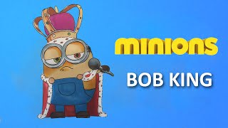 HOW TO DRAW ✎ BOB KING ✎ MINIONS