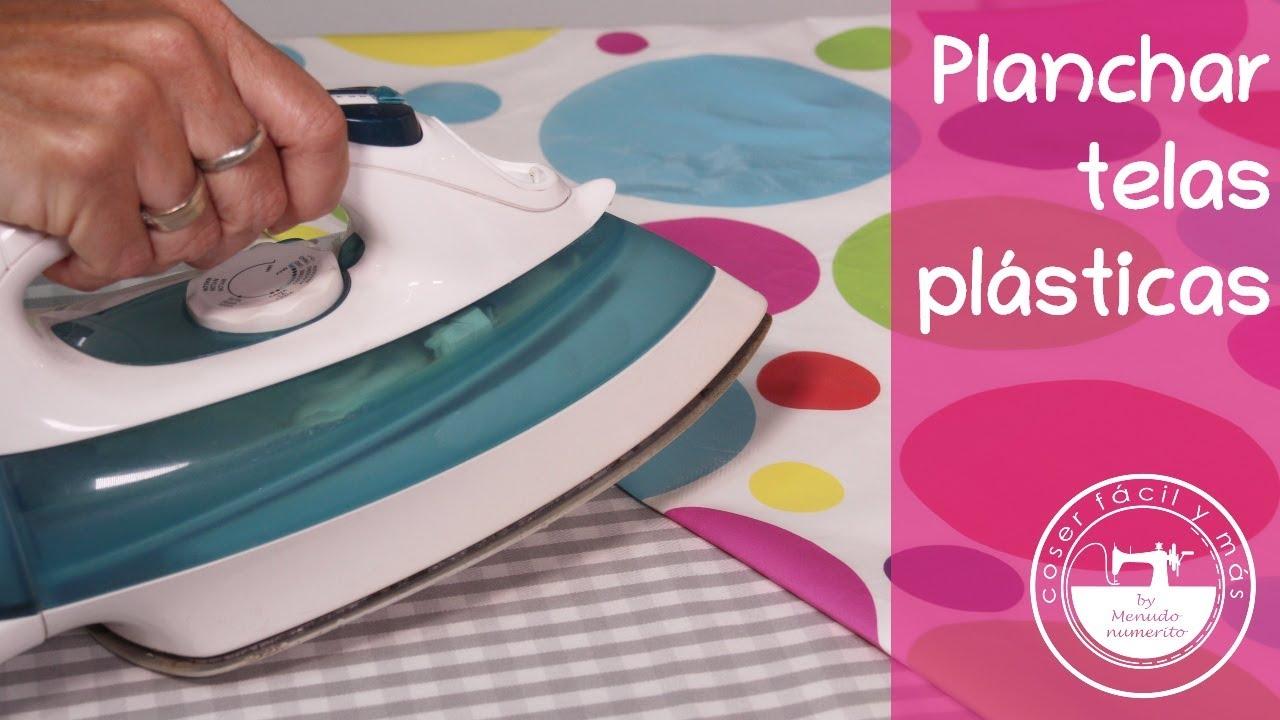 Cómo planchar telas plastificadas o vinilo