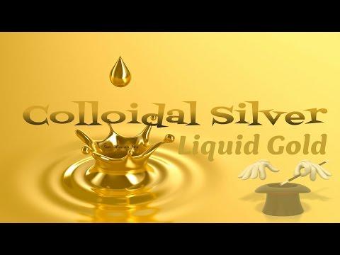 Colloidal Silver - liquid gold!