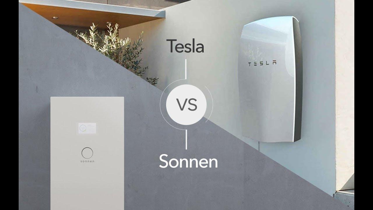 Tesla Powerwall 2 >> Sonnenbatterie Vs Tesla Powerwall 2